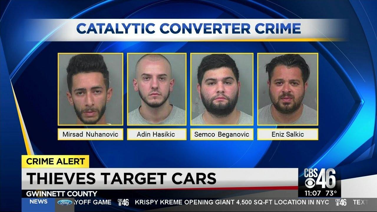 Criminals make quick payout stealing converters