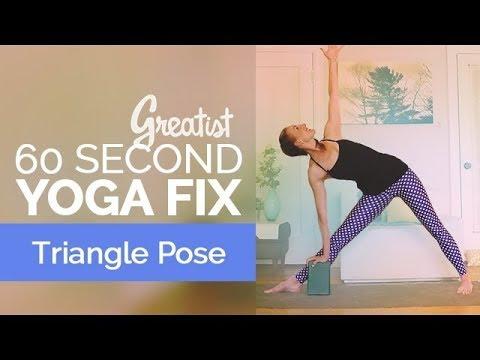 5-Pose Yoga Treatment for Desk Dwellers