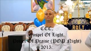 CCC, Gospel Of Light Parish (POP Night 2015)