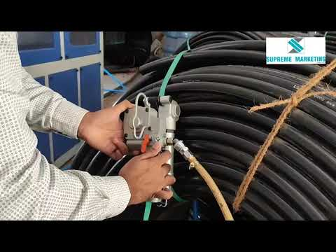 Hdpe Pipe Packing Tool Demonstration Video