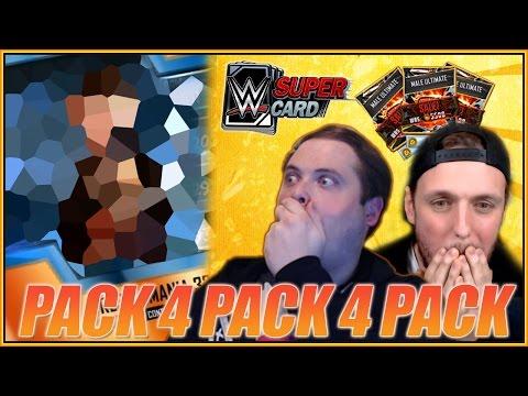 EPIC WM 33 PACK 4 PACK 4 PACK CHALLENGE - WWE SuperCard - TonyPizzaGuy vs superzomgbbq vs Futwiz Dan