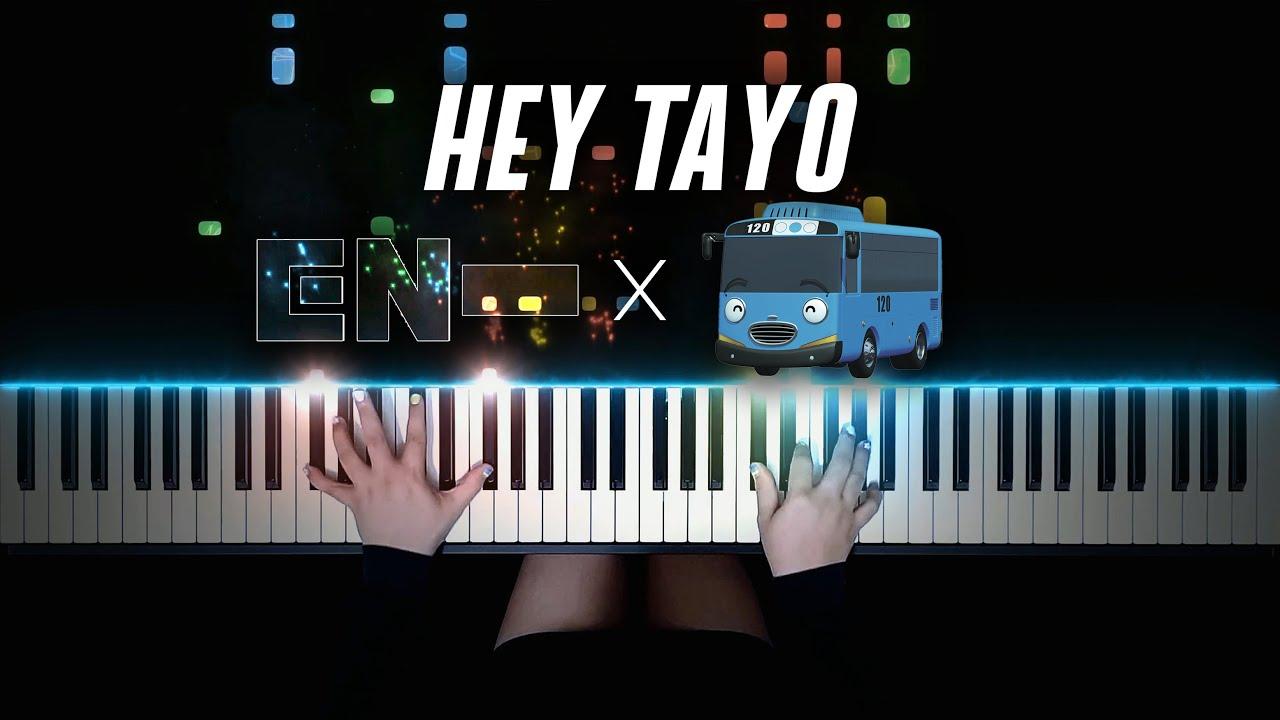 ENHYPEN X TAYO - HEY TAYO | Piano Cover by Pianella Piano