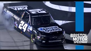 Relive highlights from Gander Truck Series playoff race at Bristol Motor Speedway