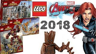 LEGO News: LEGO Super Heroes 2018 , Avengers Infinity War Official Images Revealed
