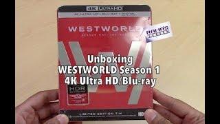 Unboxing   'WESTWORLD' Season One 4K Ultra HD/Blu-ray