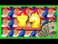 RUBBING THE SCREEN TOTALLY WORKS! BIG WINS! Wild Americoins Slot Machine Bonuses With SDGuy1234!