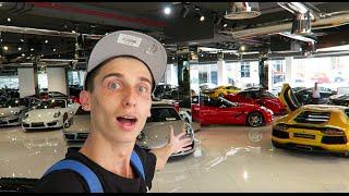 EPIC LUXURY CAR SHOWROOM !!!!!!!!!!!