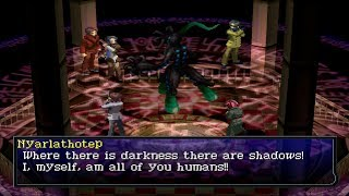 Persona 2 Eternal Punishment FINAL Boss Nyarlathotep