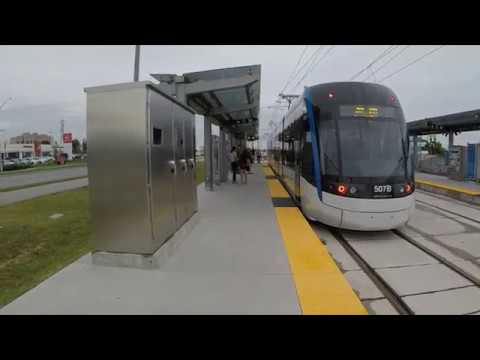 ION Light Rail Transit - Kitchener Waterloo - Time Lapse