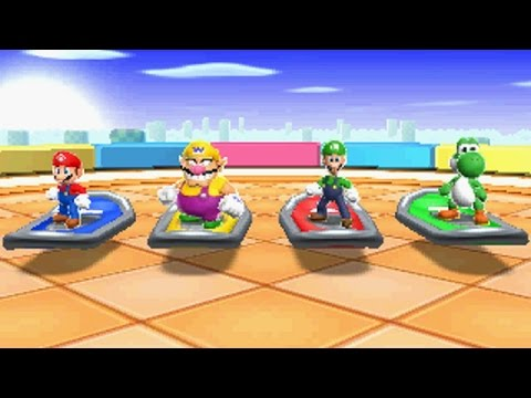 Mario Party Island Tour - All Mini Games