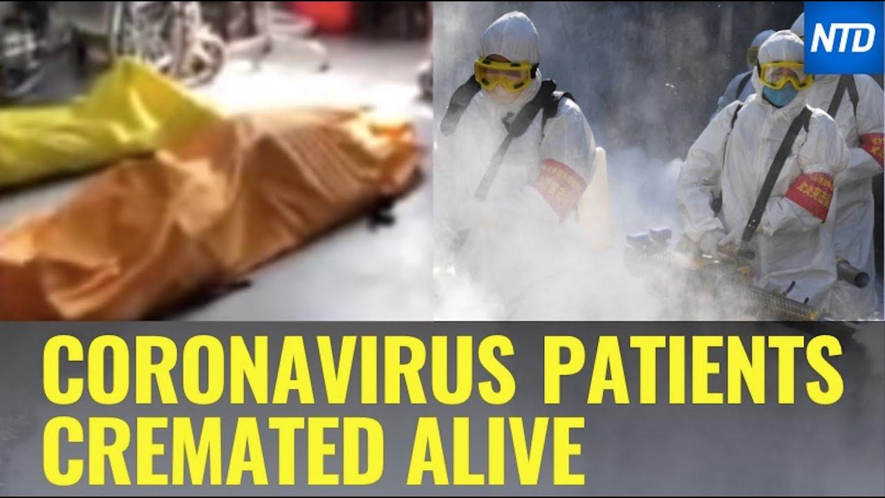 Woman Says Coronavirus Patients Cremated Alive | NTD