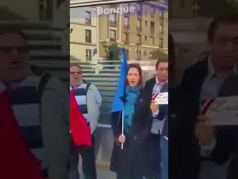 MUSLIMS PRAYING IN FRANCE CONFRONTING CHRISTIANS!!!