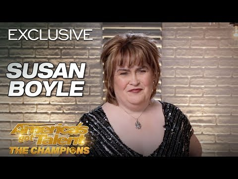 Getting To Know Susan Boyle! - America's Got Talent: The Champions