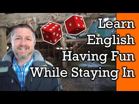 Fun At Home!  Learn English Words And Phrases For Fun Things To Do At Home