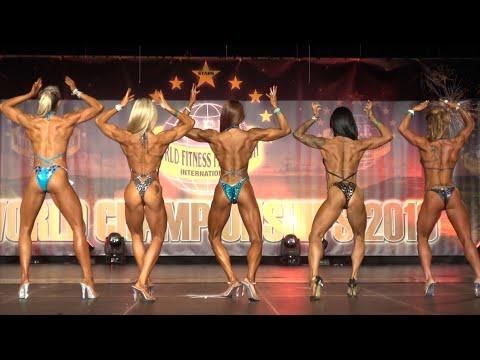 Comparisons – Women  Fitness & Women Performance – WFF World Championship 2016