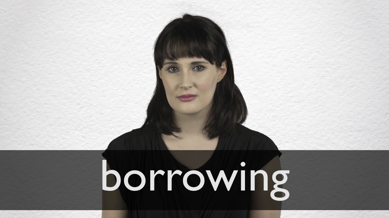 Borrowing definition and meaning | Collins English Dictionary