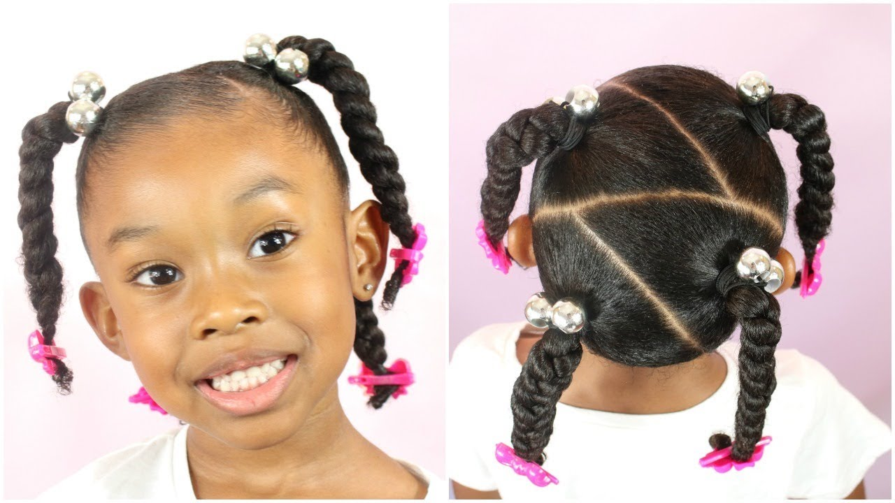 Easy Back to School Hairstyle