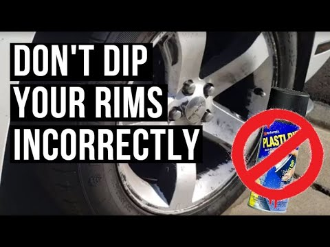 Dont Plasti Dip your Wheels Wrong or This Happens!
