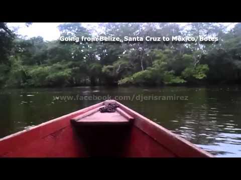 Traveling from Santa Cruz Village in Orange Walk Belize, to Botes, Mexico