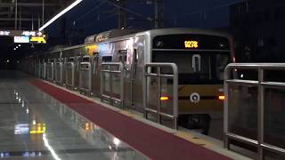 서울 도시철도 9호선 개화행(당역종착) 개화역 진입