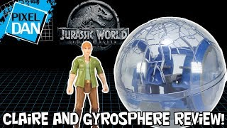 Jurassic World Claire & Gyrosphere Fallen Kingdom Mattel Figures Video Review