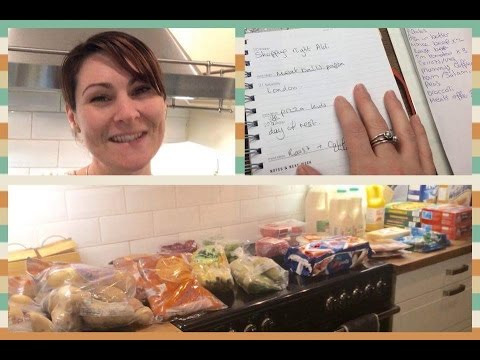 ALDI UK Food Shopping Haul/Meal Plan 20/1/17