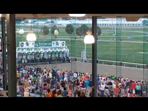 Ostrich Exotic Race New Orleans Fair Grounds August 27 2016