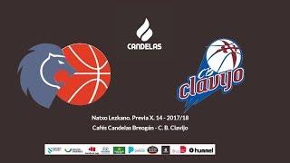 Video Natxo Lezkano RP previa Cafés Candelas Breogán - CB Clavijo