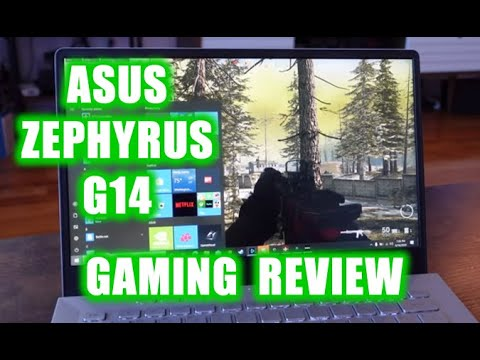 Asus Zephyrus G14 2020 Review Of The Most Power Gaming Laptop Youtube