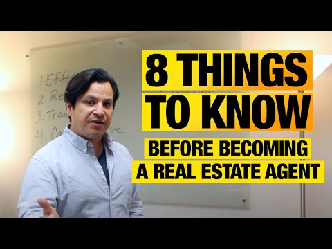 Should I Become A Realtor 8 things you should know before becoming a real estate agent - youtube