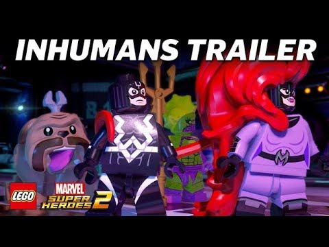 Official Inhumans - LEGO Marvel Super Heroes 2 - Game Trailer
