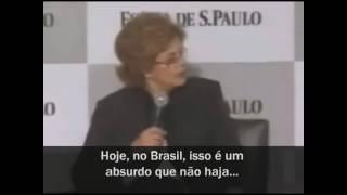 Dilma declara ser a favor do aborto