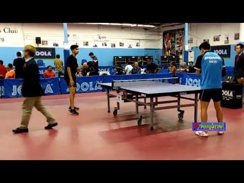 Kou Lei (WR#20) Vs Nikhil Kumar (#1 USATT Junior) At ICC-Joola Open, Spring 2019.