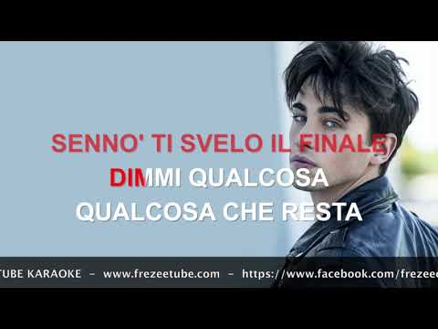 Riki (Riccardo Marcuzzo) - Perdo le parole - Karaoke con testo