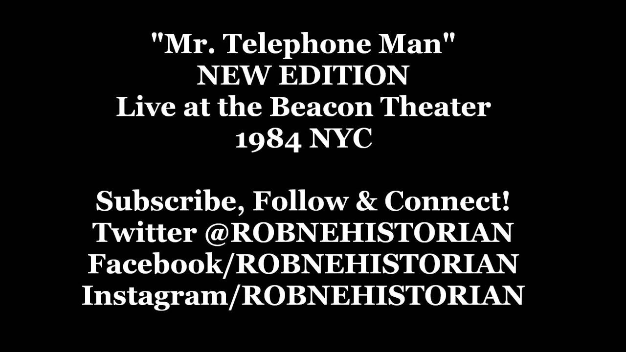 New Edition Mr Telephone Man