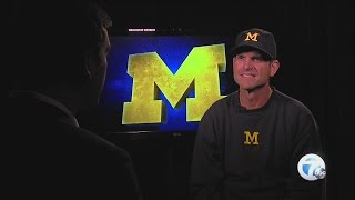 Jim Harbaugh trying to teach Michigan players to ignore outside noise
