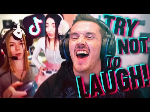 Tik Tok TRY NOT TO LAUGH CHALLENGE! (With A Twist)