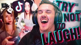 Tik Tok TRY NOT TO LAUGH CHALLENGE! (With A Twist) thumbnail