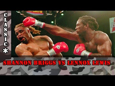 Lennox Lewis vs Shannon Briggs 28th March 1998 FULL FIGHT