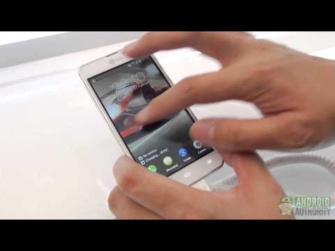 LG Optimus F5 Hands On and First Look