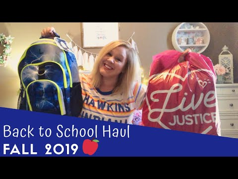 BACK TO SCHOOL HAUL 2019 - Backpacks, Shoes, Uniforms & More!