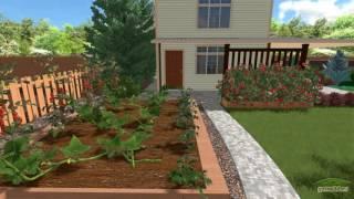 видео Смешанный стиль в ландшафтном дизайне