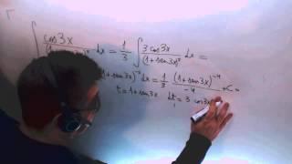 Integral cambio de variable Calculo Ingenieria Telecomunicaciones Matematicas Academia Usero
