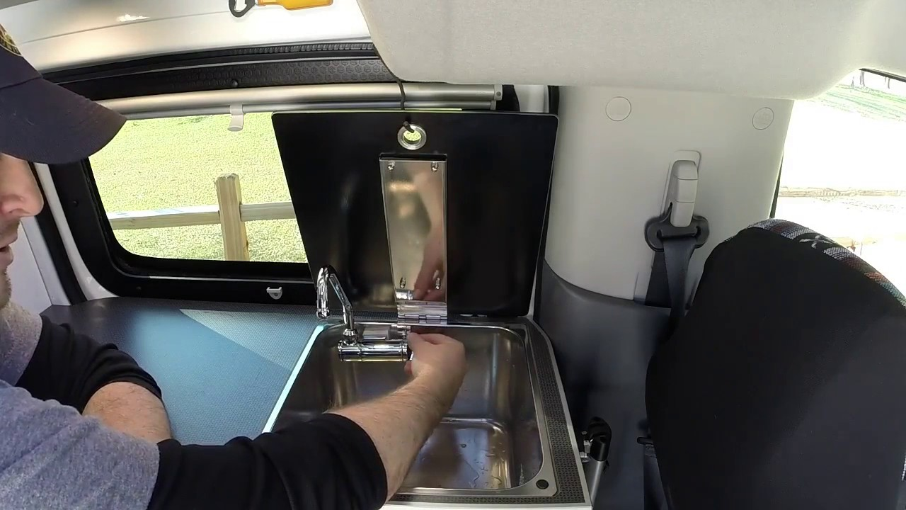 Sink Window Operation Recon Campers Nissan Nv200 Chevy City