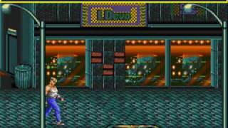 Streets of Rage(Sega Genesis)