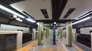 【リニューアル工事】東京メトロ銀座線京橋駅を撮影 2018年7月