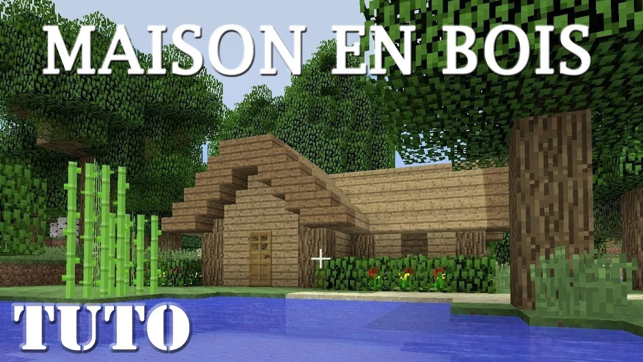 minecraft comment faire une petite maison en bois ps4 youtube. Black Bedroom Furniture Sets. Home Design Ideas