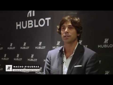 HUBLOT CELEBRATING 10TH ANNIVERSARY VEUVE CLICQUOT POLO CLASSIC