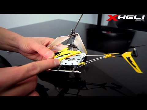 S107 Tutorial: How To Set-up A 3 Channel RC Helicopter