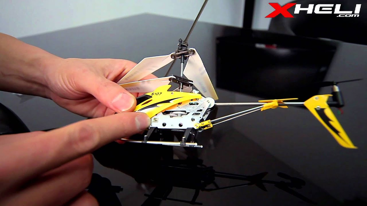 s107 tutorial how to set up a 3 channel rc helicopter [ 1280 x 720 Pixel ]